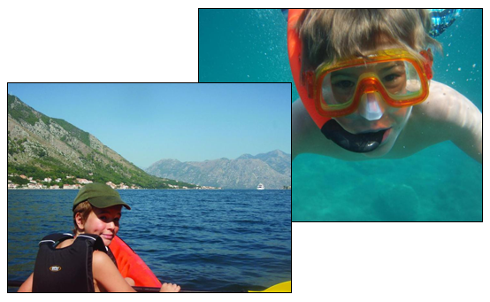 Snorkeling and boating for all ages